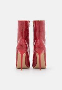 BEBO - SHIMA - Støvletter - burgundy - 3