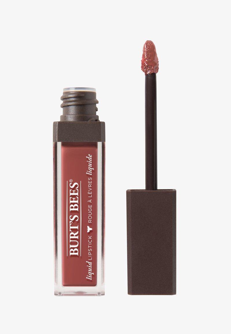 Burt's Bees - LIQUID LIP STICK - Liquid lipstick - tidal taupe