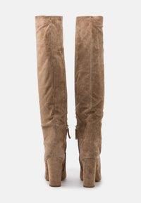 Pura Lopez - High heeled boots - montone - 3
