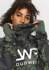 COLOURWEAR - BOWL HOOD - Sweatshirt - khaki - 3