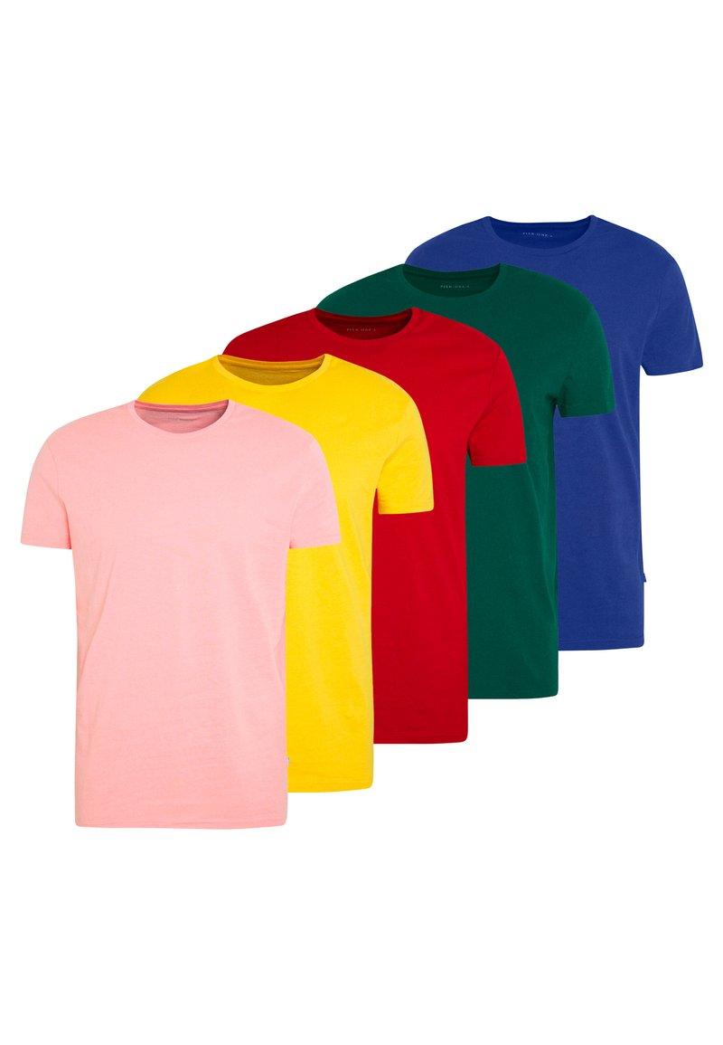 Pier One - T-shirt basic - yellow/green
