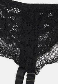 Boux Avenue - MOLLIE SUSPENDER - Strømpeholdere - black - 2