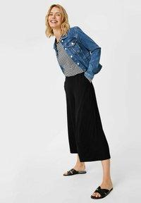 C&A - Trousers - black - 1
