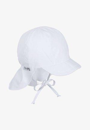 SCHIRMMÜTZE MIT NACKENSCHUTZ - Hat - white