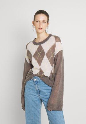 Pullover - argyle