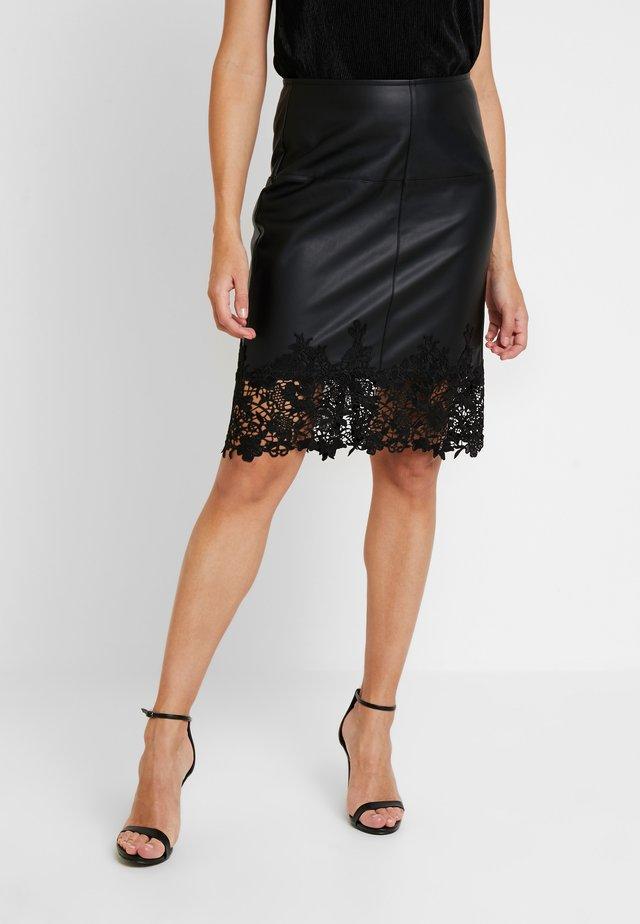 JAMIL - Pouzdrová sukně - noir