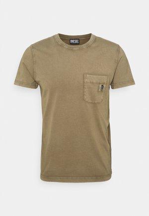 T-WORKY-MOHI-B1 UNISEX - Basic T-shirt - olive