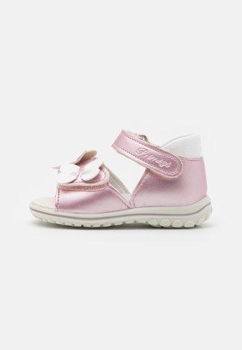 Sandals - rosa/bianco