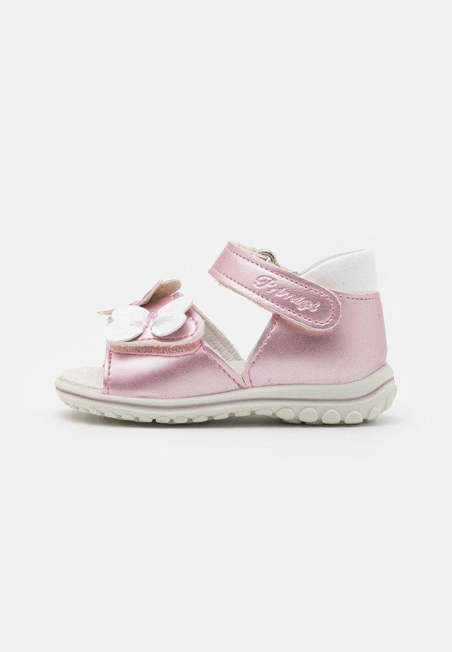 Sandaler - rosa/bianco