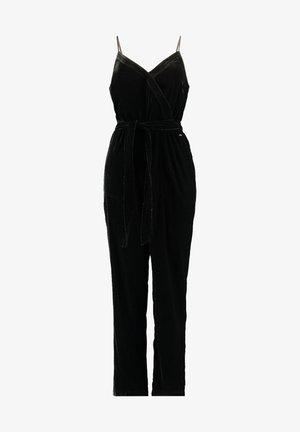 Jumpsuit - shiny black