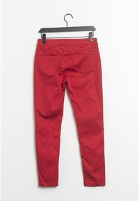 Esprit - Relaxed fit jeans - red - 1