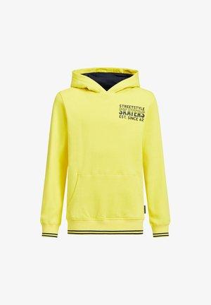 Hoodie - bright yellow