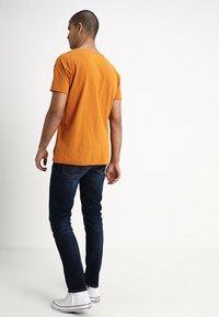 Nudie Jeans - LEAN DEAN - Jeans slim fit - dark deep worn - 2