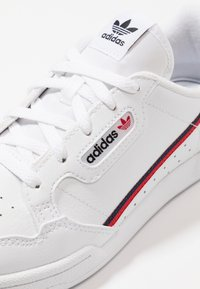 adidas Originals - CONTINENTAL 80 - Matalavartiset tennarit - footwear white/scarlet/collegiate navy - 2