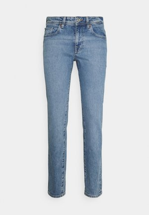 SLHSLIM LEON  - Slim fit jeans - light blue denim
