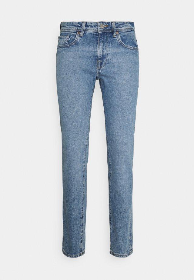 SLHSLIM LEON  - Jeans slim fit - light blue denim