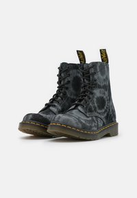 Dr. Martens - 1460 PASCAL - Lace-up ankle boots - black/charcoal grey - 2