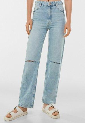 Jeans straight leg - light blue