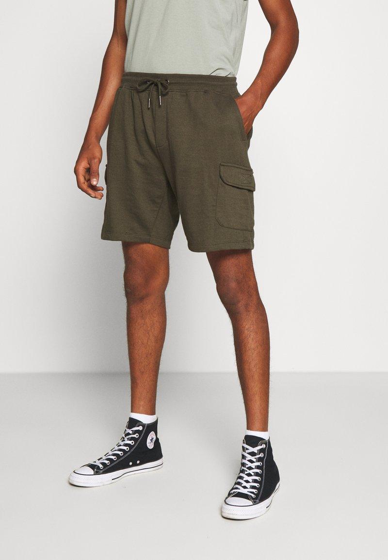 Burton Menswear London - Cargobyxor - khaki