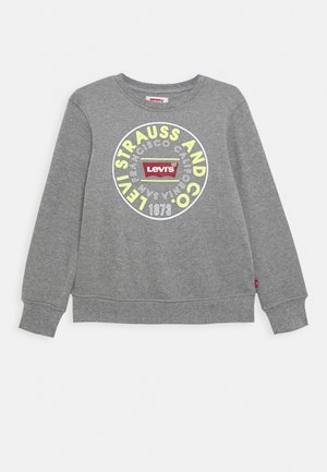 CREWNECK - Sweater - dark grey heather