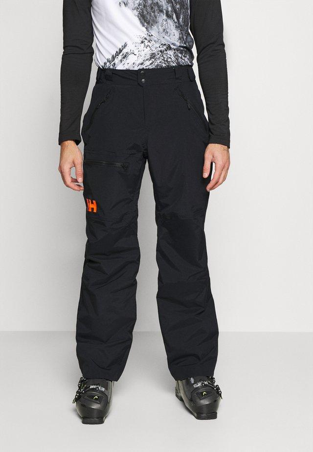SOGN - Pantaloni da neve - black