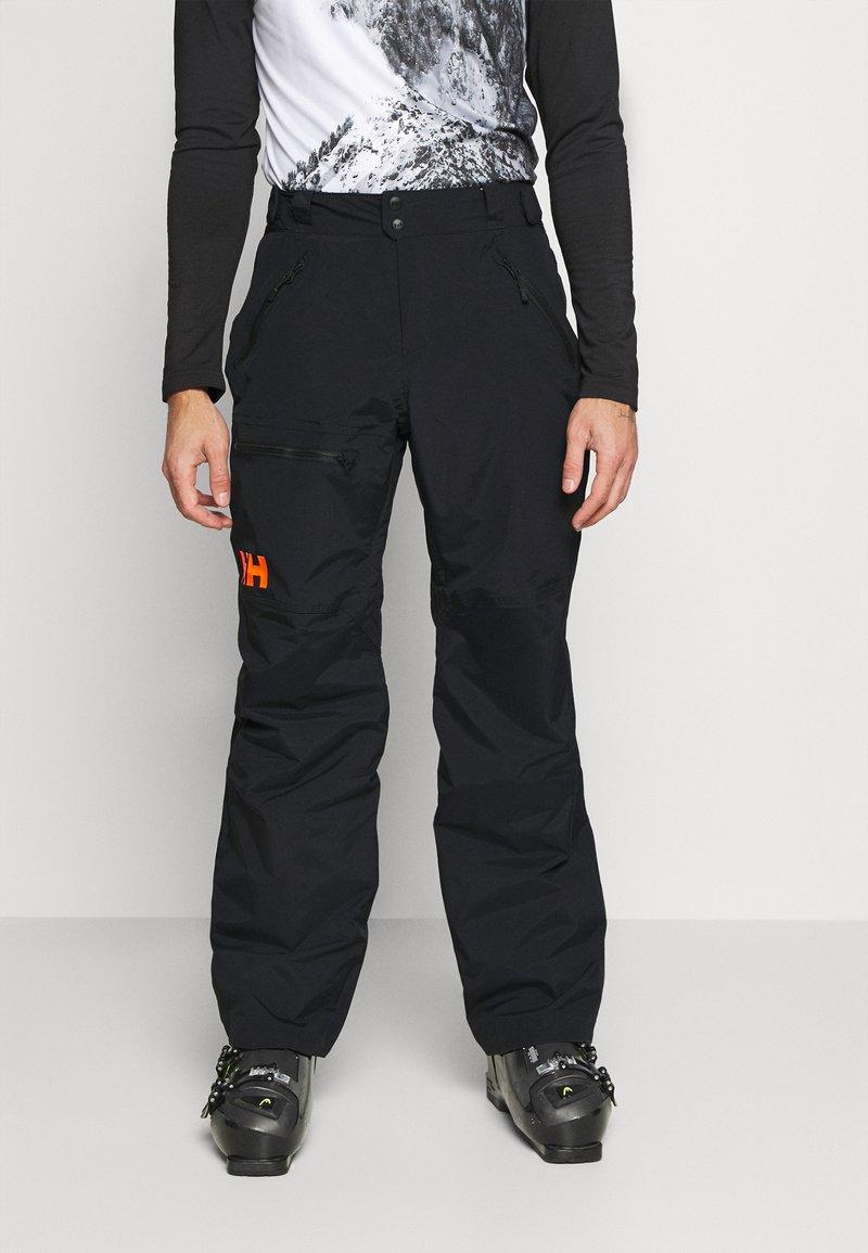 Helly Hansen - SOGN - Spodnie narciarskie - black