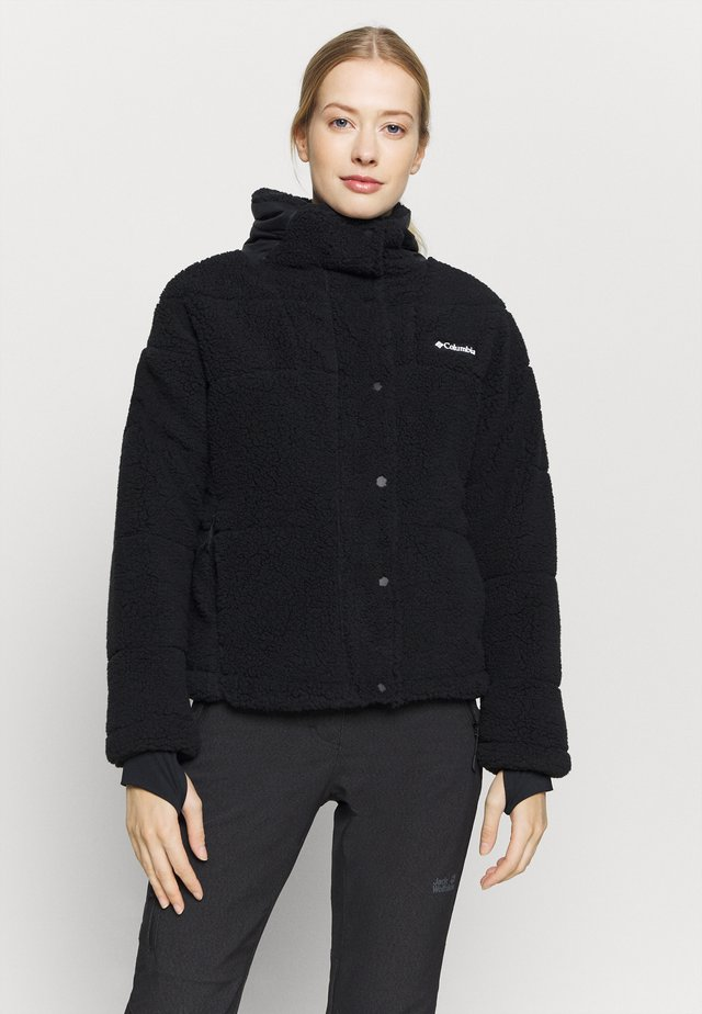 LODGEBAFFLED SHERPA - Veste polaire - black