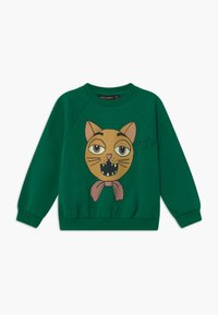 Mini Rodini - BABY CAT CHOIR SP SWEATSHIRT - Mikina - green - 0