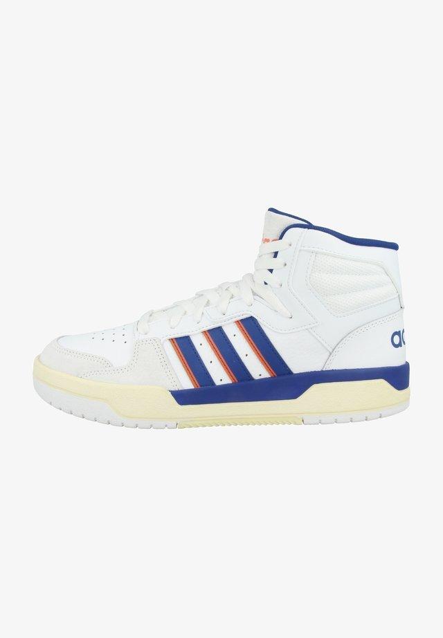 ENTRAP MID - Sneakers hoog - footwear white-team royal blue-signal orange