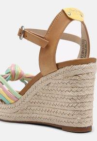 Pepe Jeans - MAIDA COLORS - Platform sandals - multi - 5