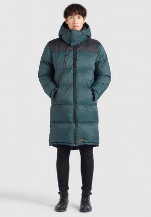PERUN - Cappotto invernale - dunkelgrün schwarz