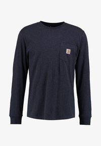 dark navy heather