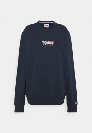 ENTRY GRAPHIC CREW - Sweatshirt - twilight navy