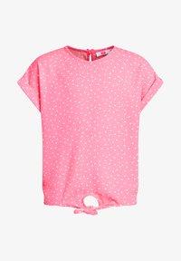 WE Fashion - MET KNOOPDETAIL - Blouse - pink - 3