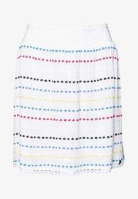 Superdry - GESMOKTER  - A-line skirt - white geo - 5