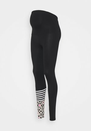 MATERNITY LEGGINGS SURF STYLE - Medias - black