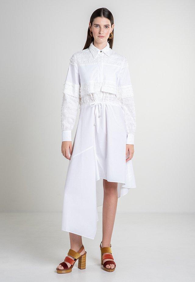 COFR - Shirt dress - white