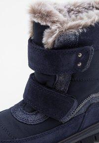Superfit - FLAVIA - Winter boots - blau - 5