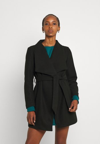 VICOOLEY - Krótki płaszcz - black