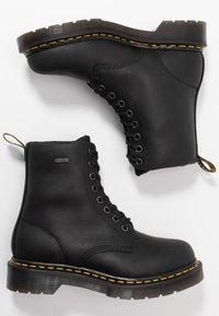 Dr. Martens - 1460 WP - Platform ankle boots - black republic - 3