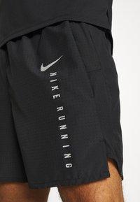 Nike Performance - Sportovní kraťasy - black/silver - 4
