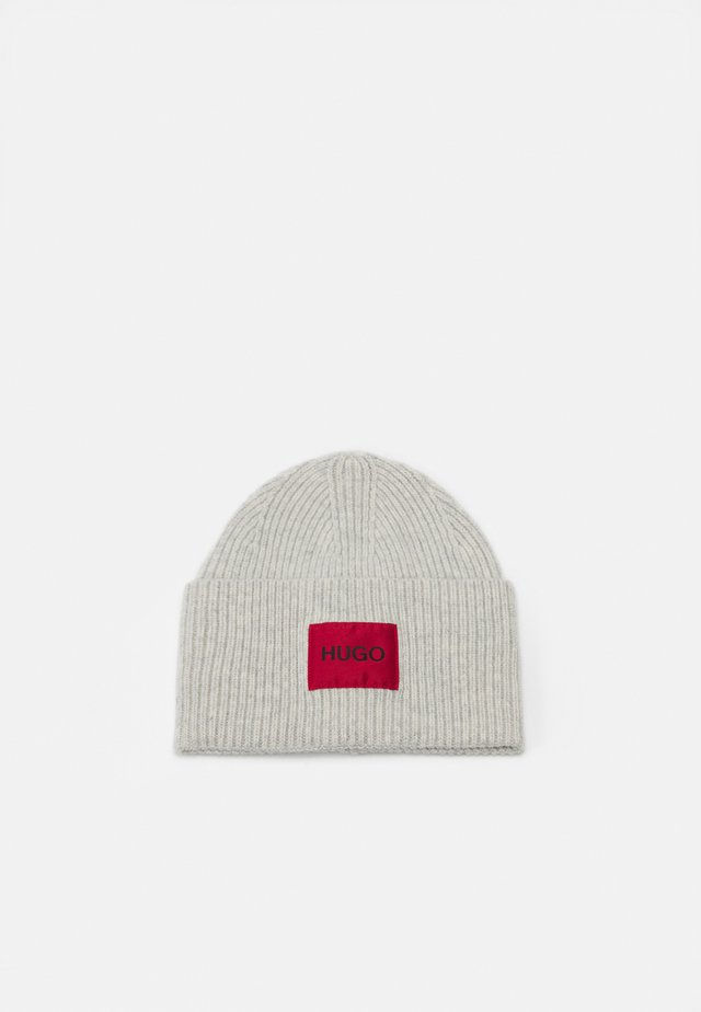 XAFF RIBBED LOGO - Beanie - grey