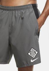 Nike Performance - Sports shorts - iron grey/black - 2