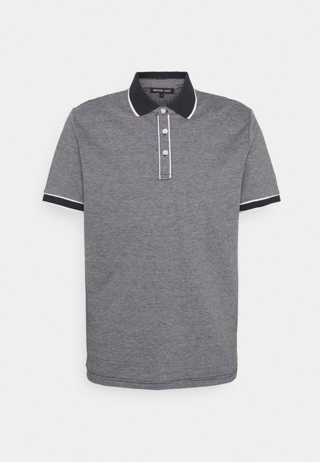 TIPPED TEXTURE - Poloshirt - dark midnight