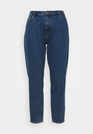 PCVERA RELAXED  - Relaxed fit jeans - medium blue denim
