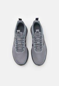 adidas Performance - FLUIDSTREET - Sports shoes - grey/carbon/core black - 3