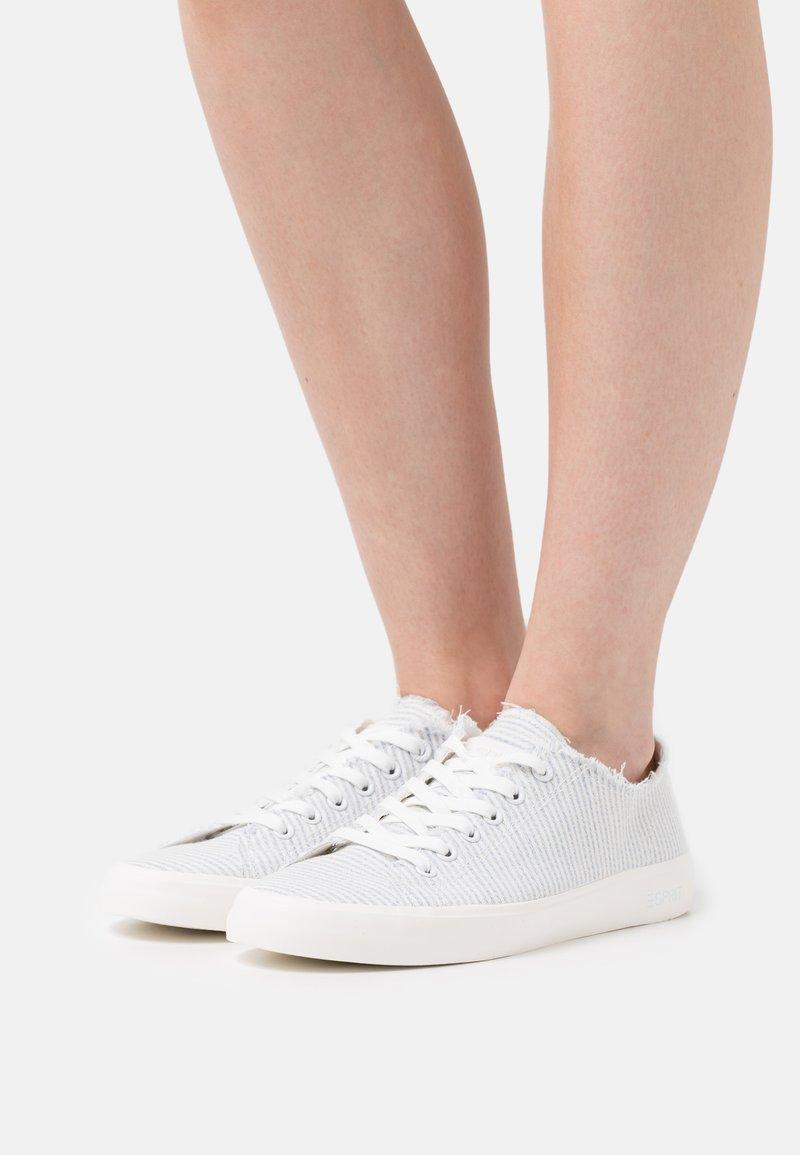 Esprit - NOVA STRIPE - Sneakers laag - light blue