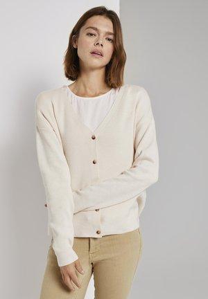 Cardigan - soft creme beige