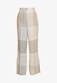 MRZ - KARO PANT - Kalhoty - brown - 5