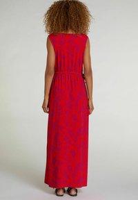 Oui - Maxi dress - red violett - 1